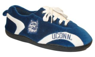 Comfy Feet NCAA All Around Youth Slippers   Connecticut Huskies   Kids Slippers