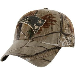47 Brand New England Patriots Franchise Fitted Hat   Realtree Camo