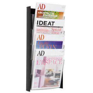 Alba 4 Pocket Wall A4 Document Display   Commercial Magazine Racks