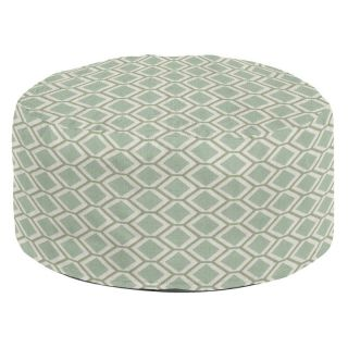 Howard Elliott Foot Pouf Geo Ottoman   Ottomans