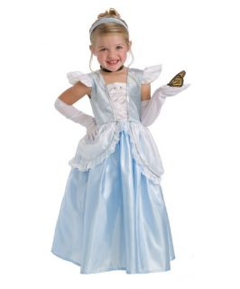 Little Adventures Cinderella Costume with Optional Slip   Pretend Play & Dress Up