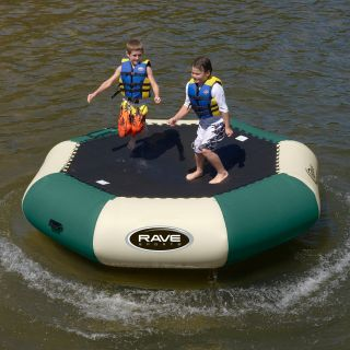 RAVE Sports 10 ft. Northwoods Bongo Water Bouncer   Water Trampolines