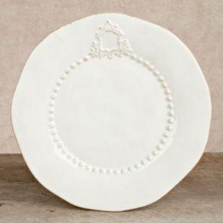 GG Collection Heirloom White Dinner Plates   Set of 4   Dinner Plates