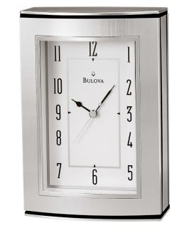 Bulova Genesis Desktop Clock with Frame   Desktop Clocks