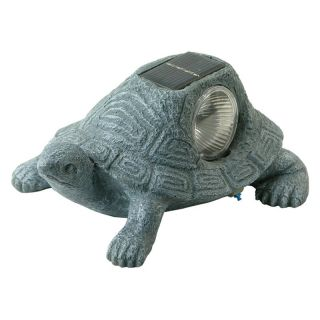 ... Pine Top Solar Turtle Garden Decor Outdoor Sculptures And Statues ...