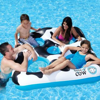 Poolmaster Hole y Cow Island   Swimming Pool Floats