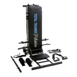 Bayou Fitness Total Trainer Pilates Pro Reformer Home Gym PilatesPro   Pilates and Yoga