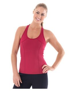 Zaggora Hot Top   Crimson   Pilates and Yoga