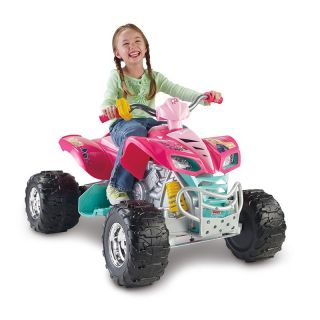 Fisher Price Power Wheels Barbie KFX Battery Powered Riding Toy   Battery Powered Riding Toys