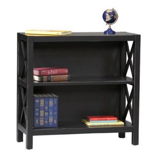 Linon Anna 2 Shelf Wood Bookcase   Bookcases