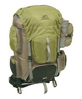 Alps Mountaineering Zion 3900 cu. in. External Pack   Olive   Backpacks and Duffle Bags