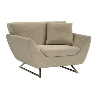 Lazar Lugano Upholstered Chair with Matching Pillow   Upholstered Club Chairs