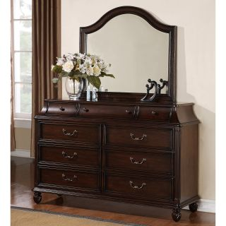 Biscayne 9 Drawer Dresser   Antigua Cherry   Dressers & Chests