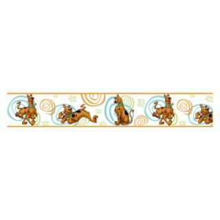 Scooby Doo Removable Border   5H in. x 15 ft. in.   Wall Decals
