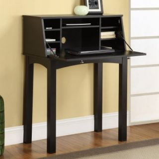 Altra Parsons Secretary Desk   Black   Writing Desks