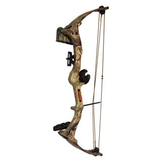 Bear Brave III Realtree Camo Youth Bow Set   Right Handed   Youth Archery