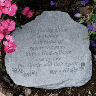 Our Family Chain Is Broken Memorial Stone   Garden & Memorial Stones