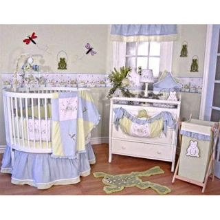 Brandee Danielle Round Sammy 4 Piece Crib Bedding Set   Baby Bedding Sets