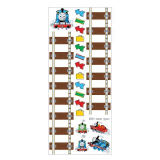 Thomas and Friends Peel and Stick Growth Chart   Kids and Nursery Wall Art