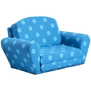 Kidz World Oxygen Blue Sofa Sleeper   Specialty Chairs
