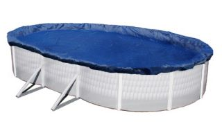 Dirt Defender 15 Year Oval Above Ground Winter Pool Cover   Swimming Pools & Supplies