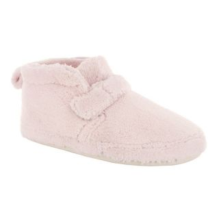 Adel Womens Bootie Slippers by Daniel Green   Pink   Womens Slippers