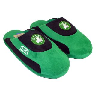 Comfy Feet NBA Low Pro Stripe Slippers   Boston Celtics   Mens Slippers