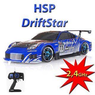 HIMOTO HSP RC R/C Elektro Drift Car Auto 4WD 2.4Ghz Technik!!! Fahrfertig!!! Geschwindigkeiten bis zu 35 km/h!!!: Spielzeug