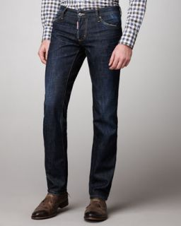 Levis Made & Crafted Taper Tapered Broken Blue Jeans