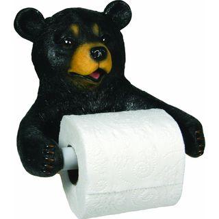 Rivers Edge Wallmount Cute Bear Toilet Paper Holder Rivers Edge Products Bath Accessories