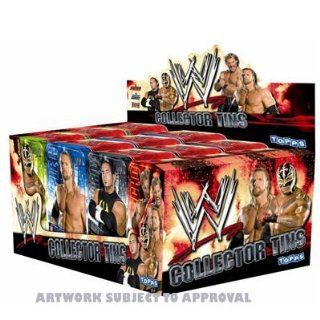 Topps TO817   Topps   Wrestling WWE Power Chipz Collector Tins: Spielzeug
