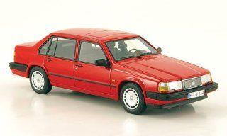 Volvo 940, rot, limitierte Auflage 300, 1992, Modellauto, Fertigmodell, Neo Limited 300 143 Spielzeug