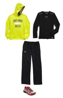 Under Armour Hoodie, T Shirt & Pants (Big Boys)