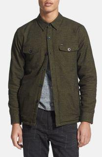 G Star Raw Cotton Canvas Shirt Jacket