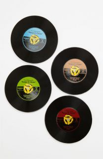 45 Record Coasters (Set of 4)