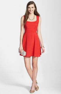 Mimi Chica Woven Skater Dress (Juniors)