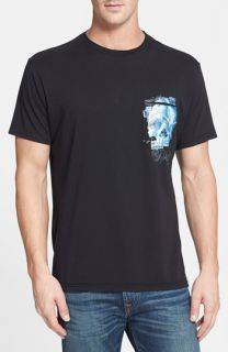 Robert Graham Skull Pocket Crewneck T Shirt