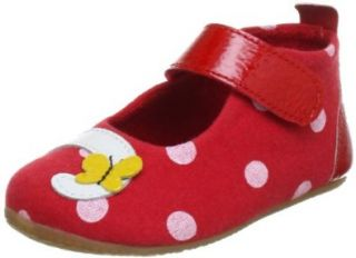 Living Kitzb�hel Babyballerina Katze & Punkte 2301, Baby M�dchen Lauflernschuhe, Rot (rot 350), EU 20: Schuhe & Handtaschen