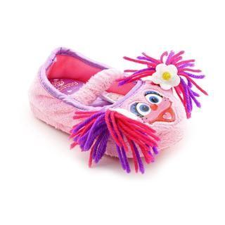 Sesame Street Girl's 'Abby Cadabby Slippers' Polyester Casual Shoes Sesame Street Children's Slippers
