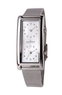 Skagen Ladies Dual Time Watch with Mesh Band, 19mm x 44mm