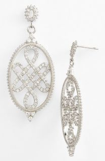Freida Rothman Love Knot Drop Earrings