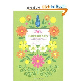 Dutch Door Birthdays: Birthday Book and Card Set: Anna Branning, Mara Murphy: Englische Bücher