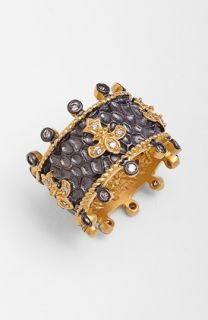 Freida Rothman Tribeca Hammered Cigar Band Ring