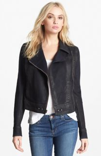 Paige Denim Brooklyn Denim Moto Jacket