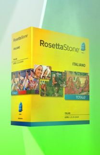 Rosetta Stone Italian Level 1  5 Interactive Language Learning Software