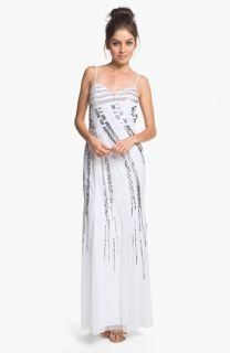 Sean Collection Embellished Chiffon Gown (Online Only)