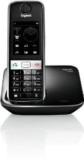 Gigaset S820 DECT Hybrid Telefon schwarz Elektronik