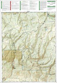Flat Tops SW, Rifle Gap (National Geographic: Trails Illustrated Map #125): National Geographic Maps   Trails Illustrated: 9781566952774: Books
