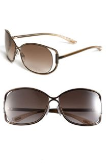 Tom Ford Eugenia 64mm Open Temple Sunglasses