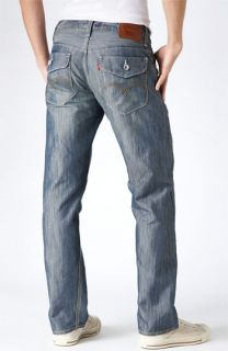 Levis® Red Tab™ 514™ Welder Slim Straight Leg Jeans (Sail Wash)